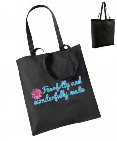 "S223-W101: ""Fearfully"" Bag for life"