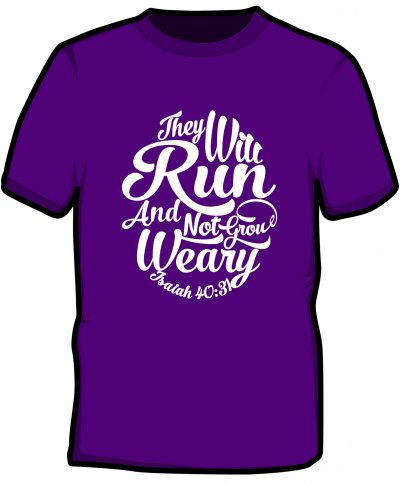 "S228-JC001: ""Weary"" Cool wicking/quick dry tee"