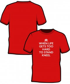 "S185-SS6B: ""When Life Gets"" Kids t-shirt"