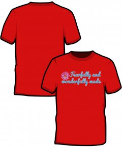 "S223-SS6B: ""Fearfully"" Kids t-shirt"