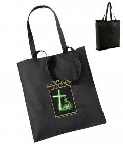 "S076-W101: ""Sin Wars"" Bag for life"