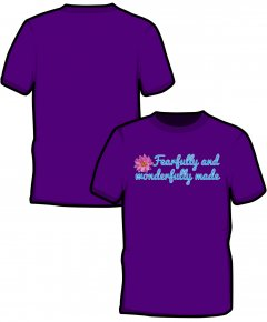 "S223-GD01: ""Fearfully"" SoftStyle unisex t-shirt"