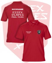 UC-PO-GS42: Essex Blades Pool Team Polo Shirt