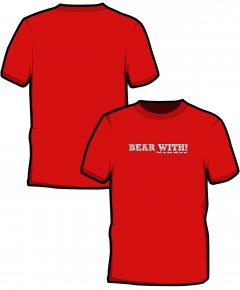 "S197-SS6B: ""Bear With"" Kids t-shirt"