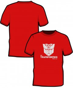 "S162-SS6B: ""Transformed"" Kids t-shirt"