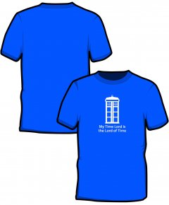 "S220-GD01: ""Time Lord"" SoftStyle unisex t-shirt"