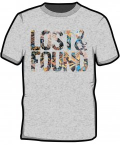 "S191-SS6B: ""Lost & Found"" Kids t-shirt"