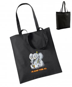 "S199-W101: ""Elephant"" Bag for life"