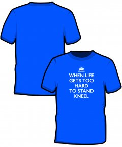 "S185-GD01: ""When Life Gets"" SoftStyle unisex t-shirt"