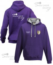 US-SH-HB4: Show Choir Society Contrast Hoodie