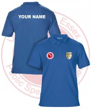 US-PS-GS42: Public Speaking Society Polo Shirt