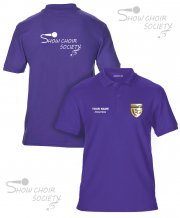 US-SH-GS42: Show Choir Society Polo Shirt