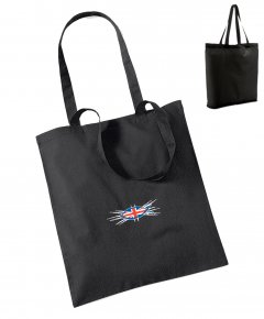 "S074-W101: ""Union Fish"" Bag for life"