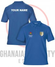 US-GH-GS42: Ghanaian Society Polo Shirt