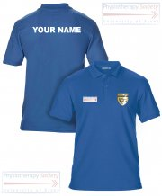 US-PY-GS42: Physiotherapy Society Polo Shirt