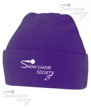 US-SH-BB45: Show Choir Society Beanie Hat