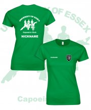 US-CA-LF5: Capoeira Club Ladies Fashion Tee