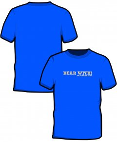 "S197-GD01: ""Bear With"" SoftStyle unisex t-shirt"
