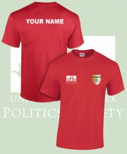 US-PO-TS6: Politics Society Tee Shirt