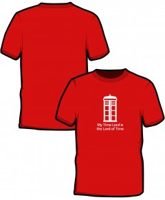 "S220-SS6B: ""Time Lord"" Kids t-shirt"