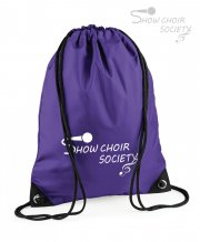 US-SH-BG10: Show Choir Society Gym Bag